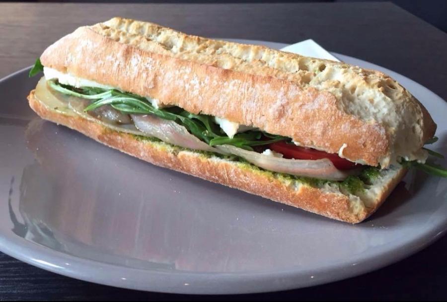 sandwich et café à vevey